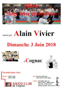 Stage inter générations à Cognac @ Dojo de la Salle Verte | Cognac | Nouvelle-Aquitaine | France