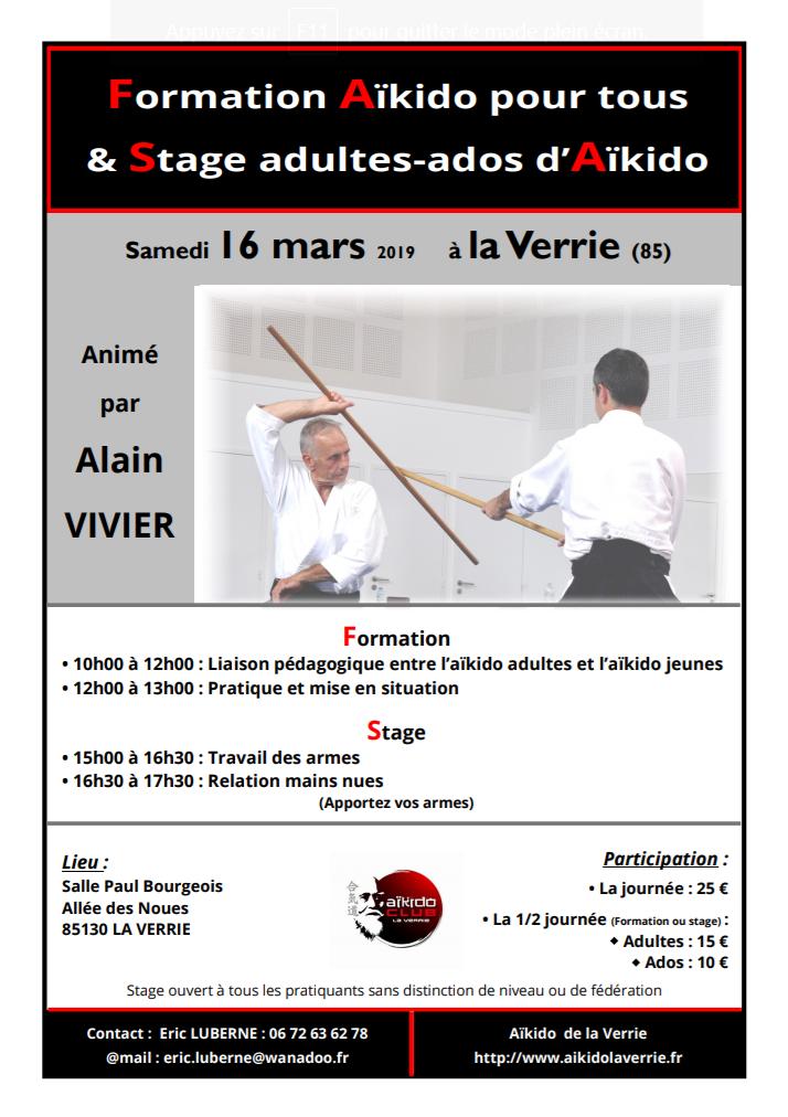 Stage Ados + Formation enseignants jeunes à la Verrie @ Salle Paul Bourgeois | La Verrie | Pays de la Loire | France