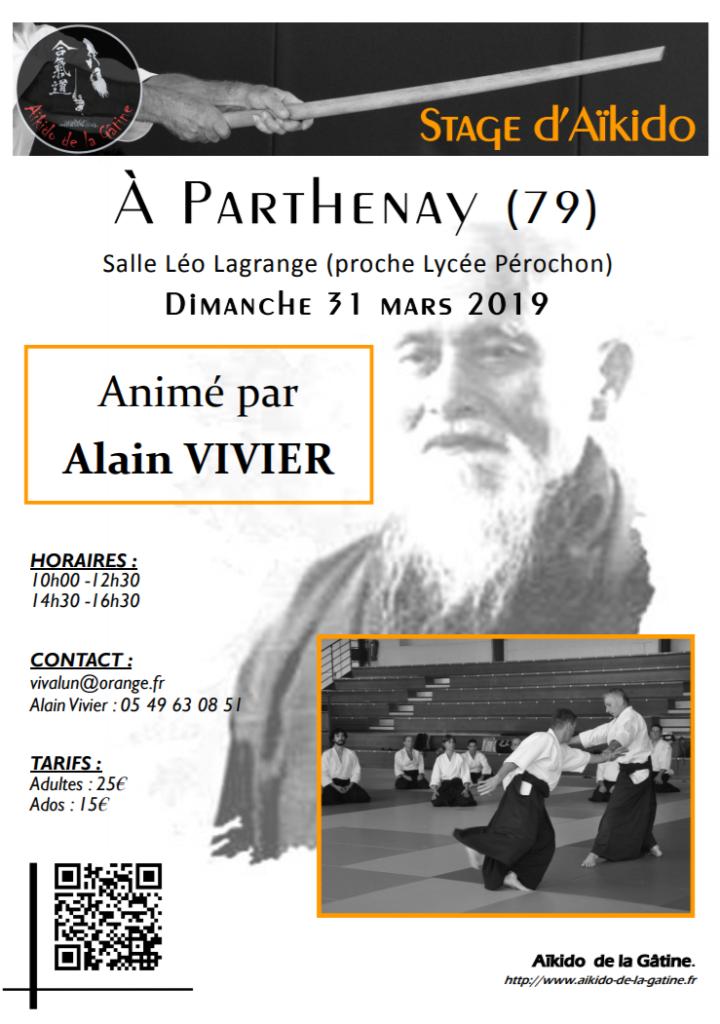Stage Alain Vivier à Parthenay